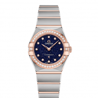 Omega Constellation 131.25.25.60.53.002 Zlato & Diamanty, Quartz, 25 mm