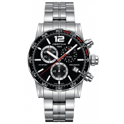 Certina DS Sport C027.417.11.057.02 Precidrive 1/10, Quartz Chronograph, 42 mm