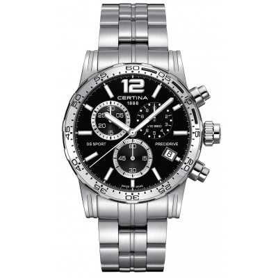 Certina DS Sport C027.417.11.057.00 Precidrive 1/10, Quartz Chronograf, 42 mm