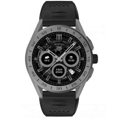 TAG Heuer Connected SBG8A81.BT6222 45 mm, Titánové pouzdro