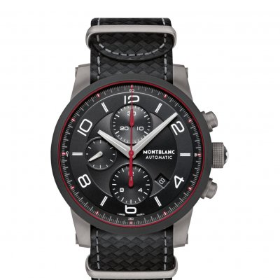 Mont Blanc TimeWalker 113827 e-Strap, Automatic Chronograph, 43 mm