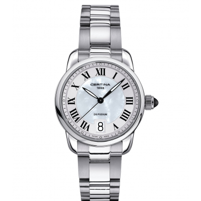 Certina DS Podium Lady C025.210.11.118.00 Rímske číslice, Quartz, 32.5 mm