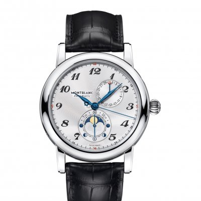 Mont Blanc Star Traditional 113848 Twin Moonphase, Automatic, 42 mm