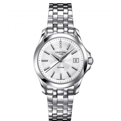 Certina DS Prime C004.210.11.036.00 Diamanty, Quartz, 32.7 mm