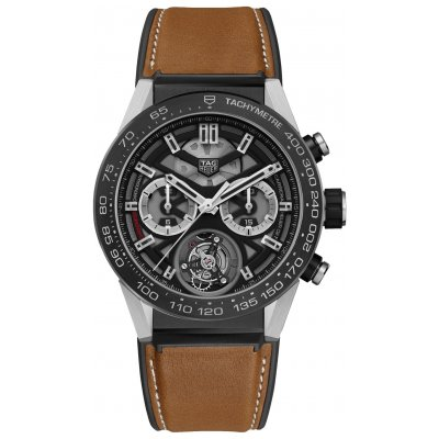 TAG Heuer Carrera Heuer 02 T CAR5A8Y.FT6072 Tourbillon, 45 mm