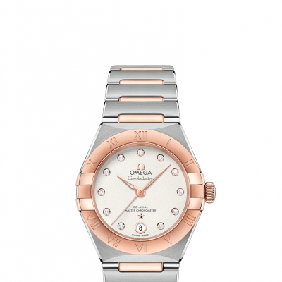 Omega Constellation Manhattan 131.20.29.20.52.001 Sedna™ Gold, Diamonds, Automat, 29mm