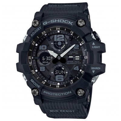 Casio G-SHOCK GWG 100-1A Vodotěsnost 200M, Quartz, 56 mm