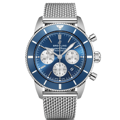 Breitling Superocean Héritage II B01 Chronograph 44 AB0162161C1A1 In-house calibre, 200m Water resistance, 44mm