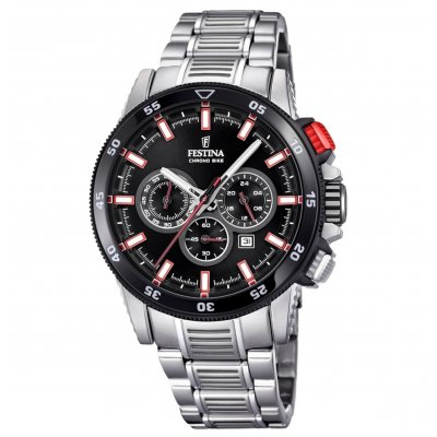 Festina Chrono bike F20352/4 Vode odolnosť 100M, Quartz Chronograf, 44 mm