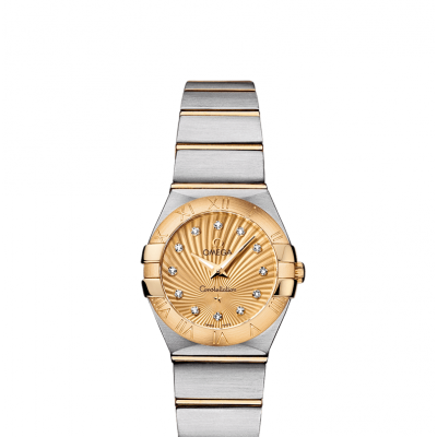 Omega Constellation 123.20.24.60.58.001 Zlato & Diamanty, Quartz, 24 mm