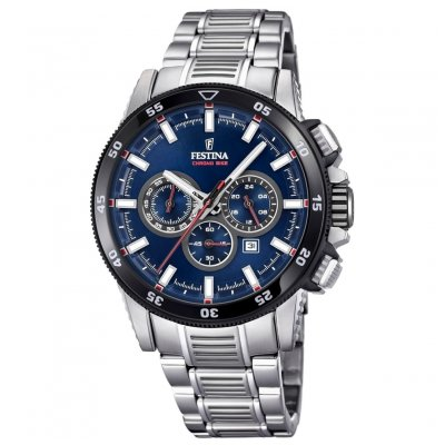 Festina Chrono bike 2018 F20352/3 Quartz, Chronograf, Vode odolnosť 100M, 43 mm