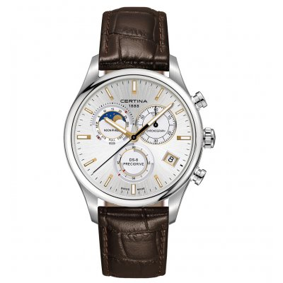 Certina DS-8 C033.450.16.031.00 Mesačné fázy, Quartz Chronograf, 42 mm