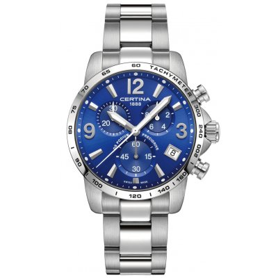 Certina DS Podium C034.417.11.047.00 Precidrive 1/10, Quartz Chronograf, 41 mm