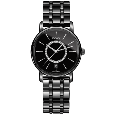 Rado DiaMaster R14063737 Diamonds, Quartz, 33 mm