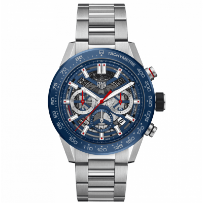 TAG Heuer Carrera CBG2A11.BA0654 HEUER 02, Water resistance 100M, 45 mm