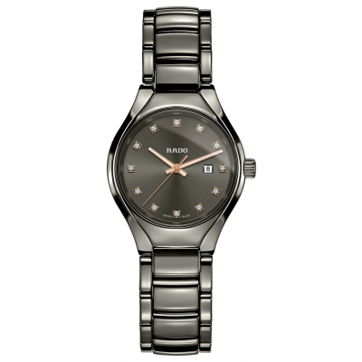 Rado True R27 060 73 2 Diamanty, Quartz, 30 mm