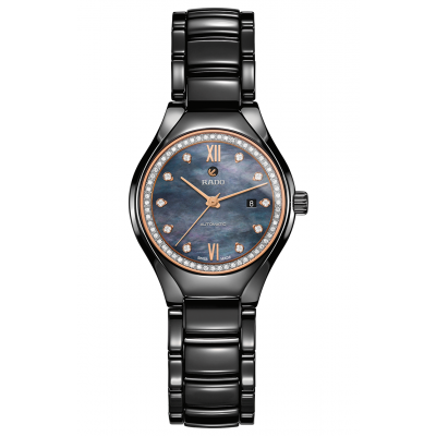 Rado True R27 242 85 2 Keramika, Diamanty, Automat, 30 mm