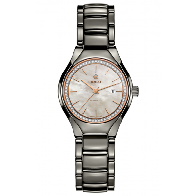 Rado True R27 243 85 2 Ceramic, Diamonds, Automatic, 30 mm