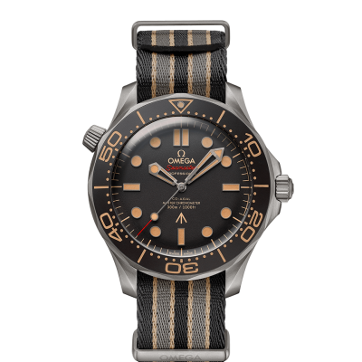 Omega Seamaster Diver 300M 007 Edition 210.92.42.20.01.001 James Bond, Titanium, NATO, 42 mm