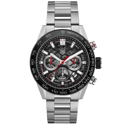 TAG Heuer Carrera CBG2A10.BA0654 HEUER 02, Water resistance 100M, 45 mm