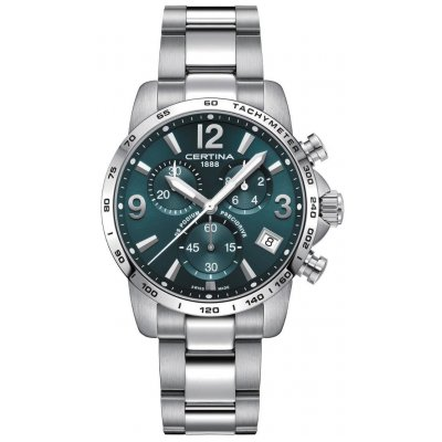 Certina DS Podium C034.417.11.097.00 Precidrive, Quartz, Chronograf, 41 mm