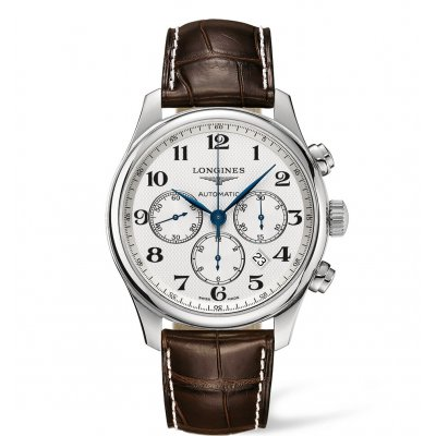 Longines Master Collection L28594783 Column-Wheel, Automat Chronograf, 44 mm