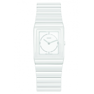 Rado Ceramica R21 703 73 2 Keramika, Diamanty, Quartz, 22.9 x 31.7 mm