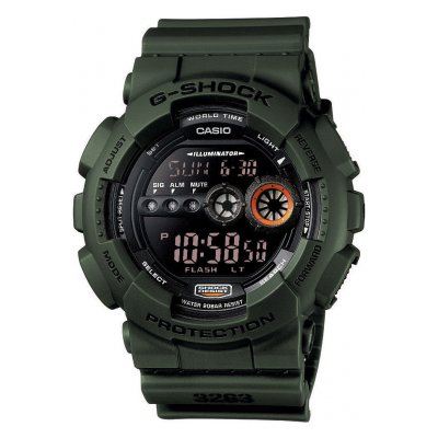 Casio G-SHOCK GD 100MS-3 Vode odolnosť 200M, Quartz, 51,2 mm