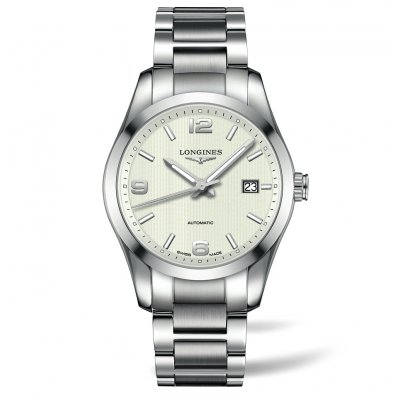 Longines Conquest Classic L27854766 Oceľový náramok, Automat, 40 mm