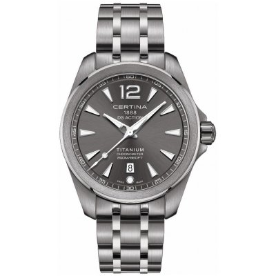 Certina DS Action C032.851.44.087.00 Chronometer, Quartz, Vode odolnosť 200M, 41 mm