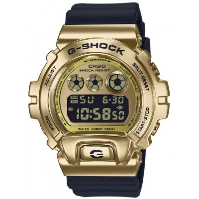 Casio G-SHOCK G-CLASSIC GM 6900G-9 Quartz Chronograf, Vode odolnosť 200M, 49.70 mm