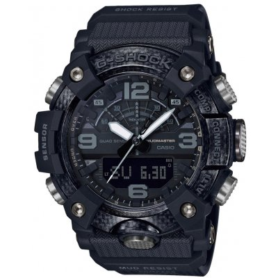 Casio G-SHOCK MUDMASTER GG B100-1B Bluetooth, Quartz, Vode odolnosť 200M, 52.90 mm