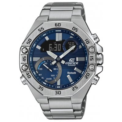 Casio EDIFICE ECB 10D-2A Quartz Chronograf, Vode odolnosť 100M, 48.50 mm