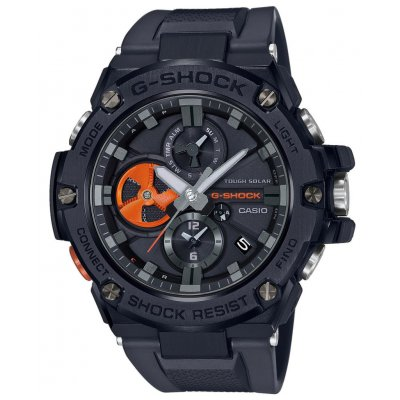 Casio G-SHOCK G-STEEL GST B100B-1A4 Bluetooth, Solar, Vode odolnosť 200M, 53.80 mm