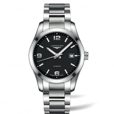 Longines Conquest Classic L27854566 Oceľový náramok, Automat, 40 mm