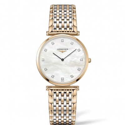 Longines La Grande Classique de Longines L47091887 Ultra tenké, Diamanty, Quartz, 33 mm