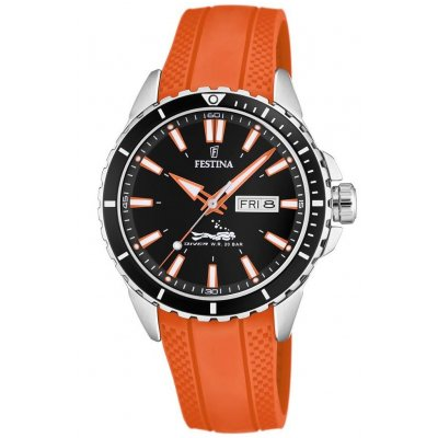 Festina The Originals F20378/5 Quartz, Water resistance 200M, 44.50 mm