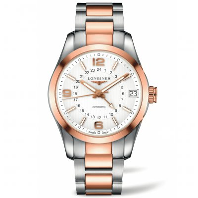 Longines Conquest Classic L27995767 Dual time, Automatic, 42 mm