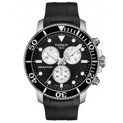 Tissot T-Sport SEASTAR 1000 T120.417.17.051.00 Water resistance 300M, Quartz, 45.50 mm
