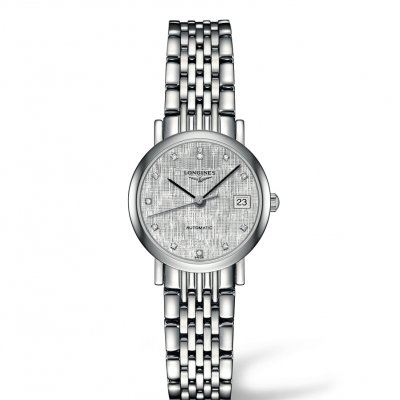Longines Elegant Collection L43094776 Diamanty, Automat, 25.50 mm