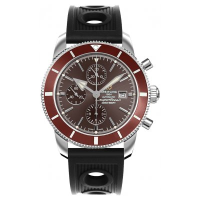 Breitling Superocean Héritage II 46 A1331233/Q616/201S Water resistance 200M, Automat Chronograph, 46 mm