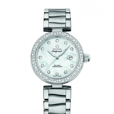 Omega De Ville Ladymatic 425.35.34.20.55.002 Diamanty, Automat, 34 mm