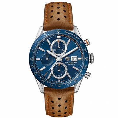 TAG Heuer Carrera CBM2112.FC6455 Automat Chronograph, Water resistance 100M, 41 mm