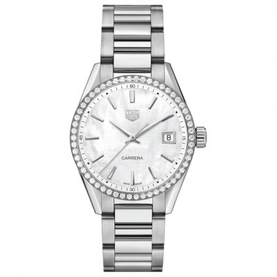 TAG Heuer Carrera WBK1316.BA0652 Diamanty, Quartz, 36 mm