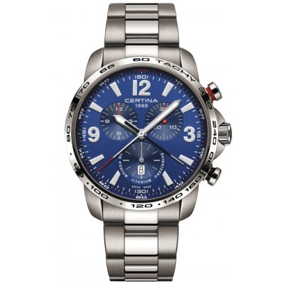 Certina DS Podium C001.647.44.047.00 Precidrive, Quartz Chronograf, 44 mm