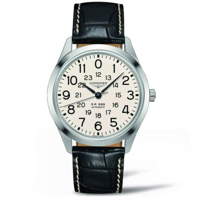 Longines Heritage L28034230 The Longines RailRoad, Automat, 40 mm