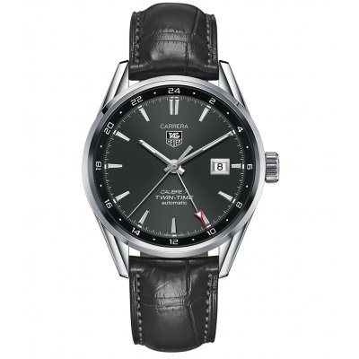 TAG Heuer Carrera Calibre 7 Twin Time WAR2012.FC6326 Automat, 41 mm
