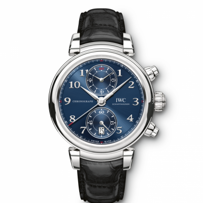 "IWC Da Vinci CHRONOGRAPH EDITION ""LAUREUS SPORT FOR GOOD FOUNDATION IW393402 In-house Flyback Chronograph, 42 mm"