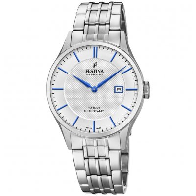 Festina Klasik SWISS MADE F20005/2 Quartz, 40 mm