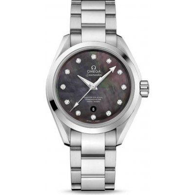 Omega Seamaster Aqua Terra 150M 231.10.34.20.57.001 Diamonds, Automatic, 34 mm
